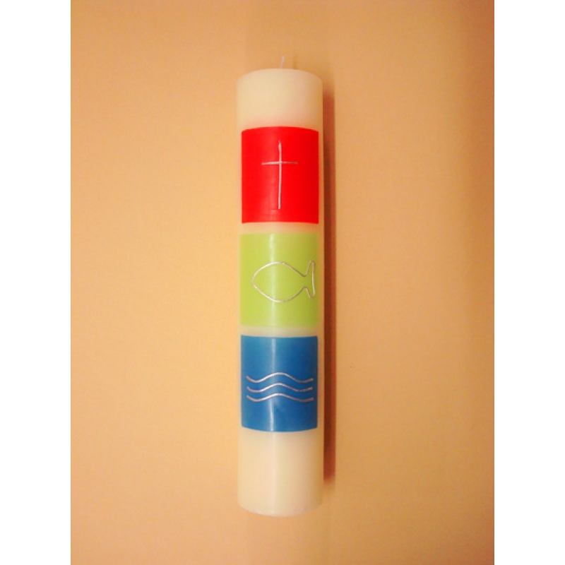 VELON DECORADO CERA Cuadros colores (5x25cm)