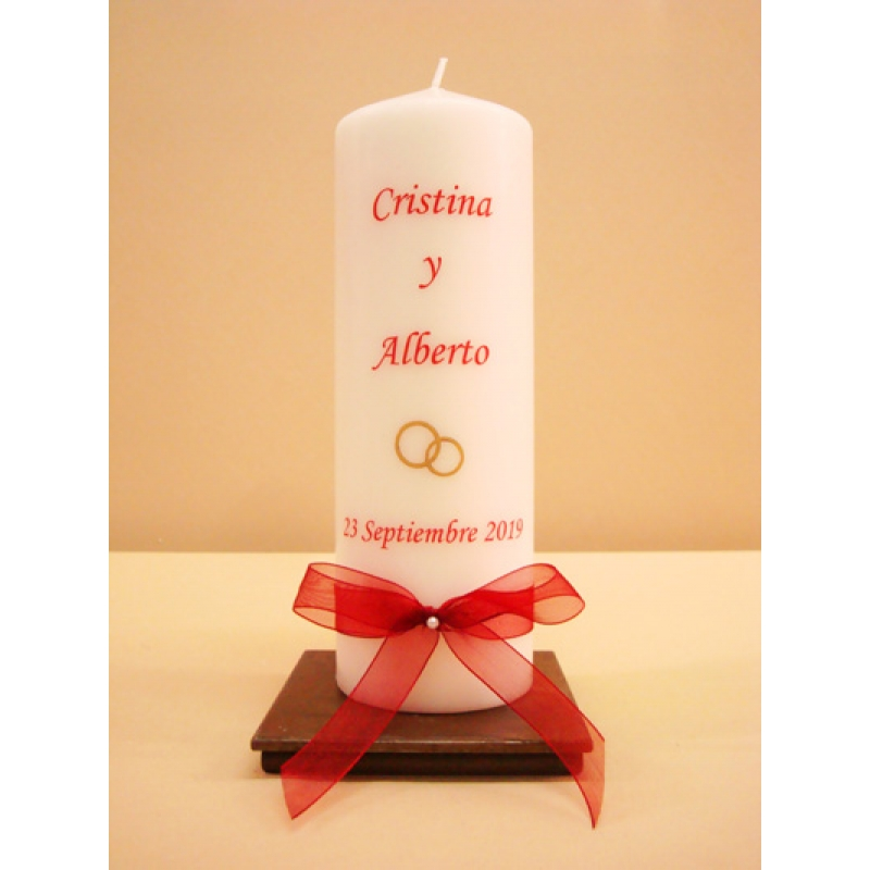 VELON CEREMONIA SIMPLE 7x20cm