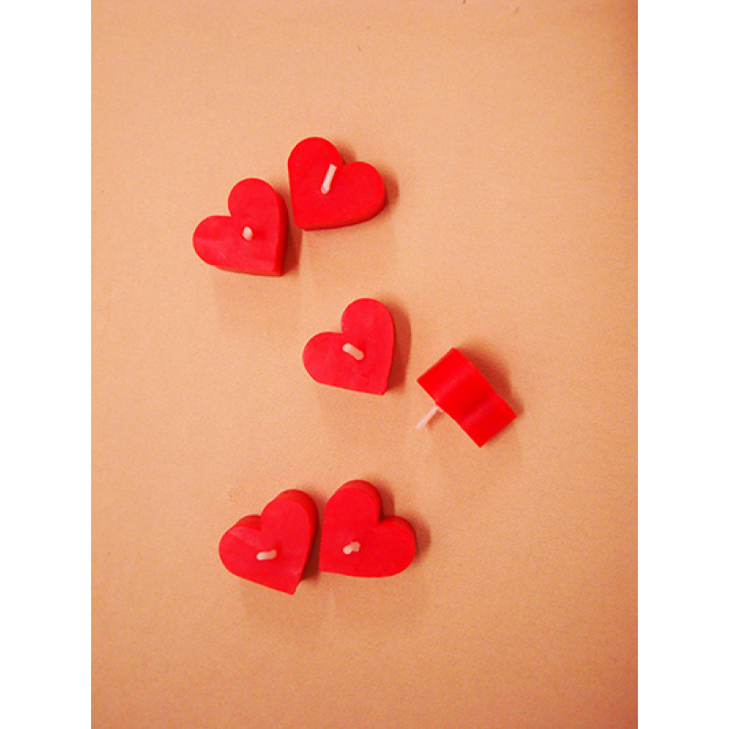 2 VELAS CORAZON MINI