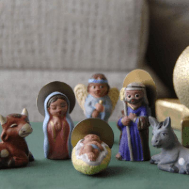 Figuritas de barro artesanales